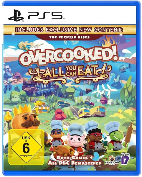 PS5 Overcooked! + Overcooked 2 All You Can Eat